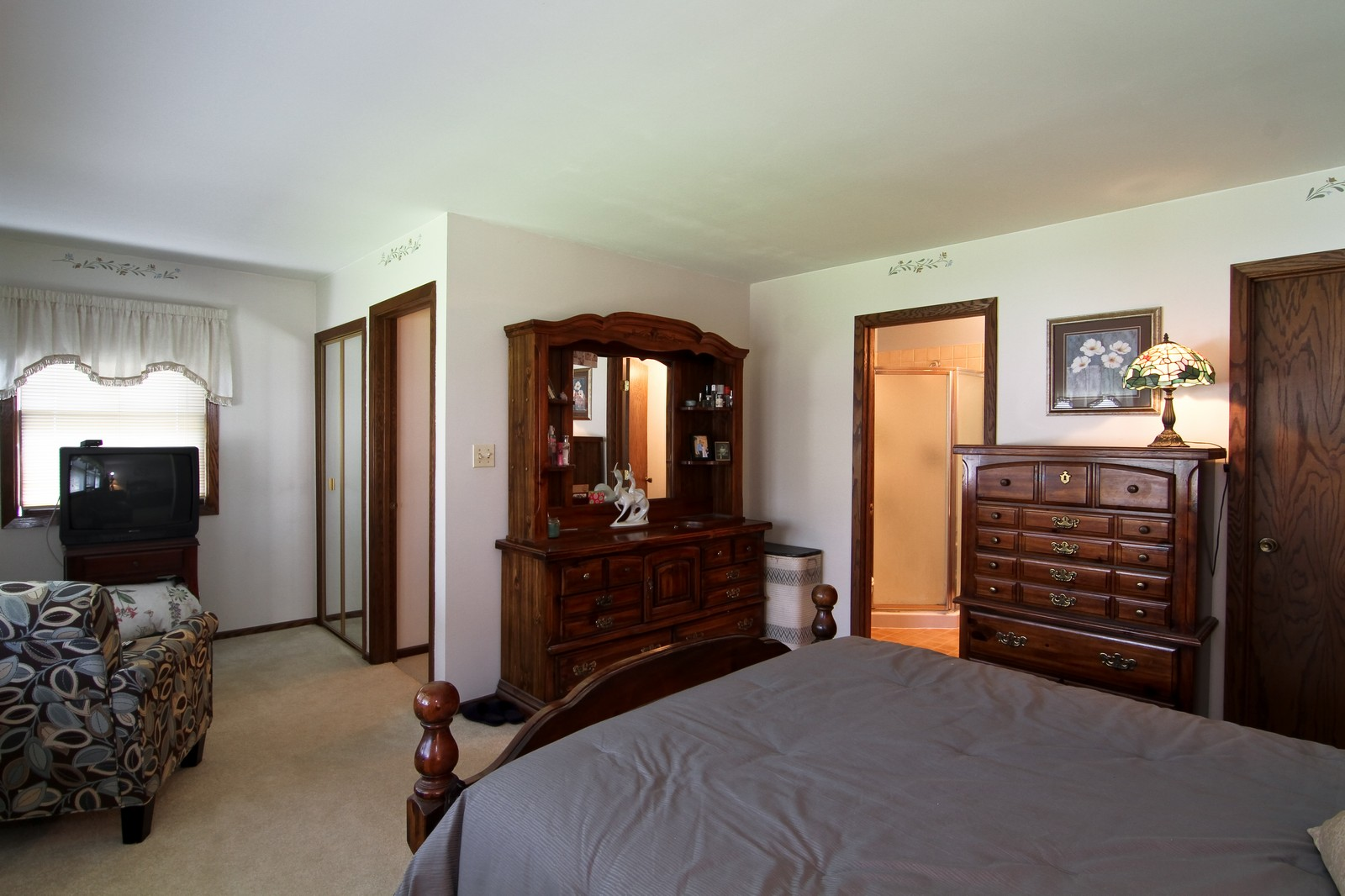 Real Estate Photography - 4605 Woodward Ave, Downers Grove, IL, 60515 - Master Bedroom