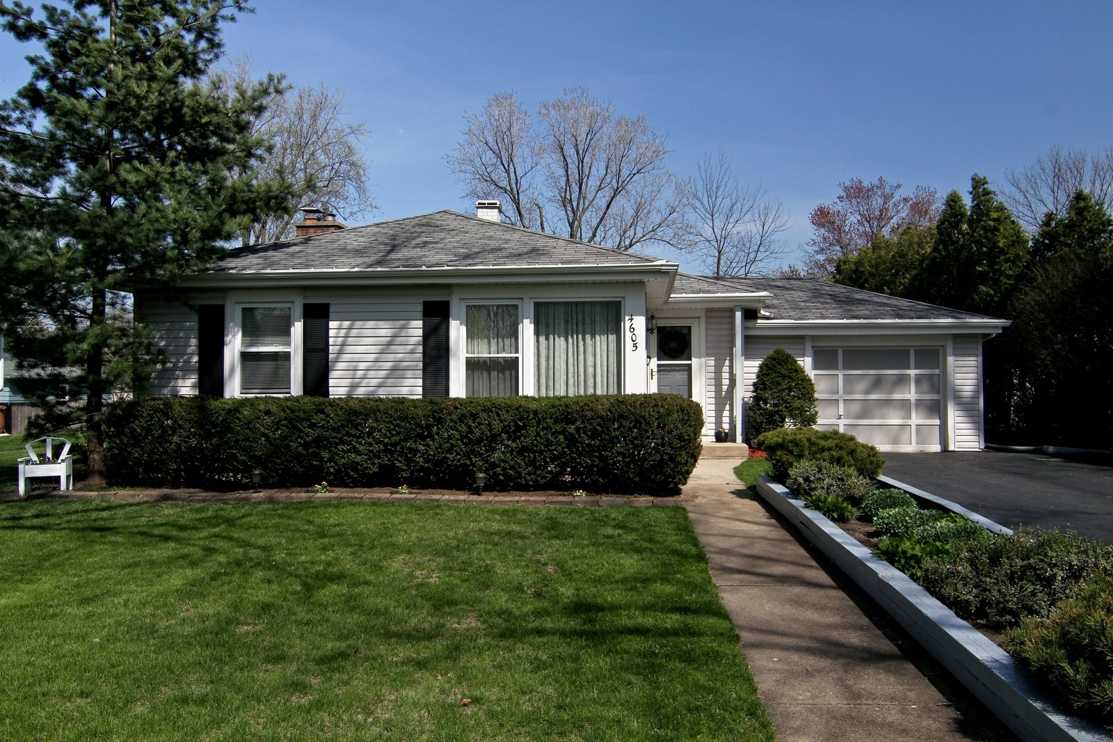 Real Estate Photography - 4605 Woodward Ave, Downers Grove, IL, 60515 - Front View