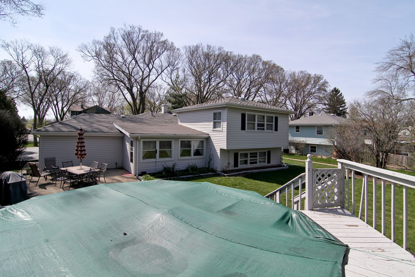 Real Estate Photography - 4605 Woodward Ave, Downers Grove, IL, 60515 - Rear View