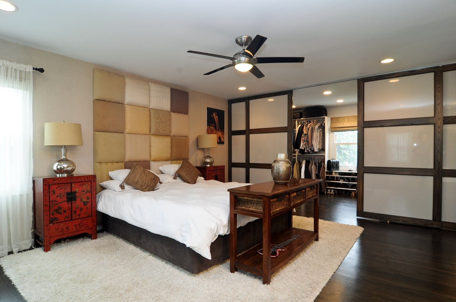 Real Estate Photography - 618 Hill St, Barrington, IL, 60010 - Master Bedroom