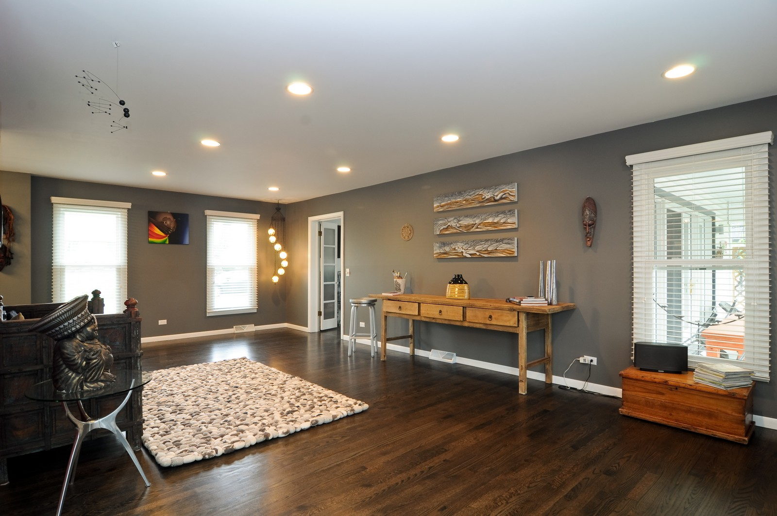 Real Estate Photography - 618 Hill St, Barrington, IL, 60010 - Living Room