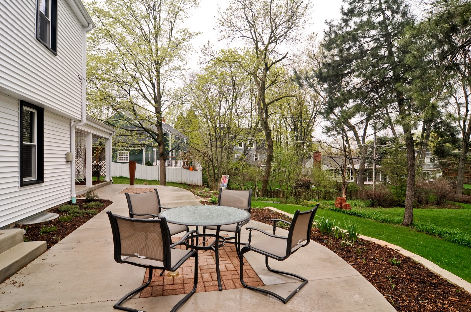 Real Estate Photography - 618 Hill St, Barrington, IL, 60010 - Back Yard