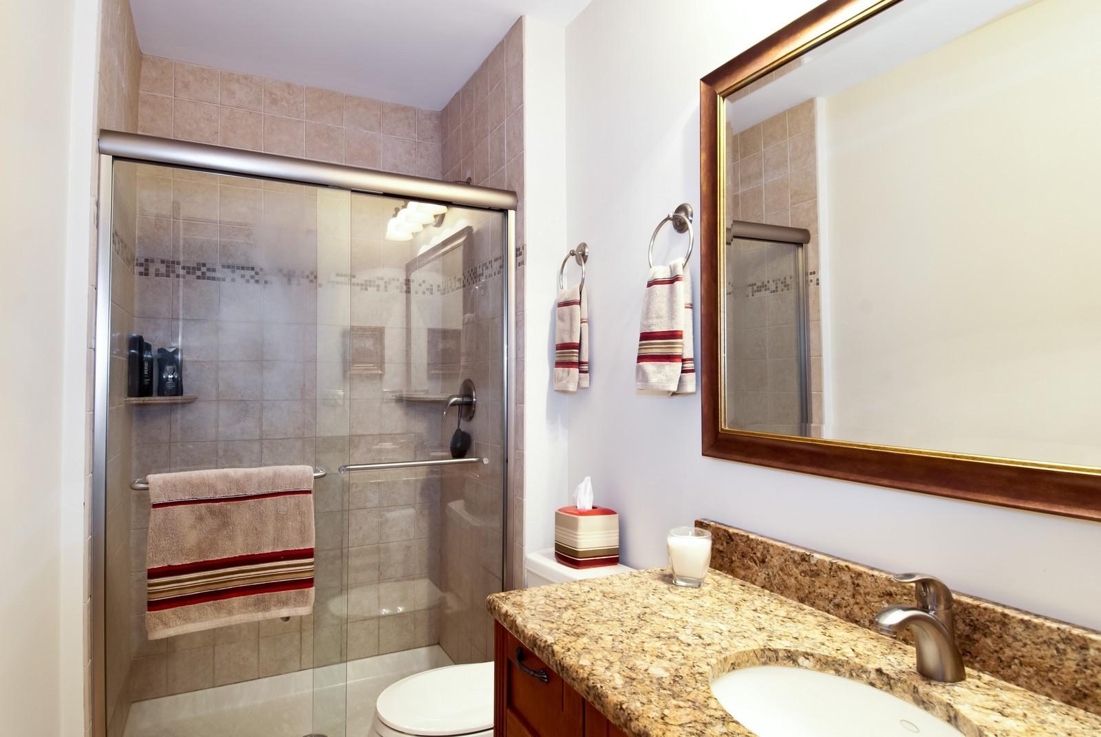 Real Estate Photography - 342 Eastern Ave, Unit 342, Barrington, IL, 60010 - Bathroom