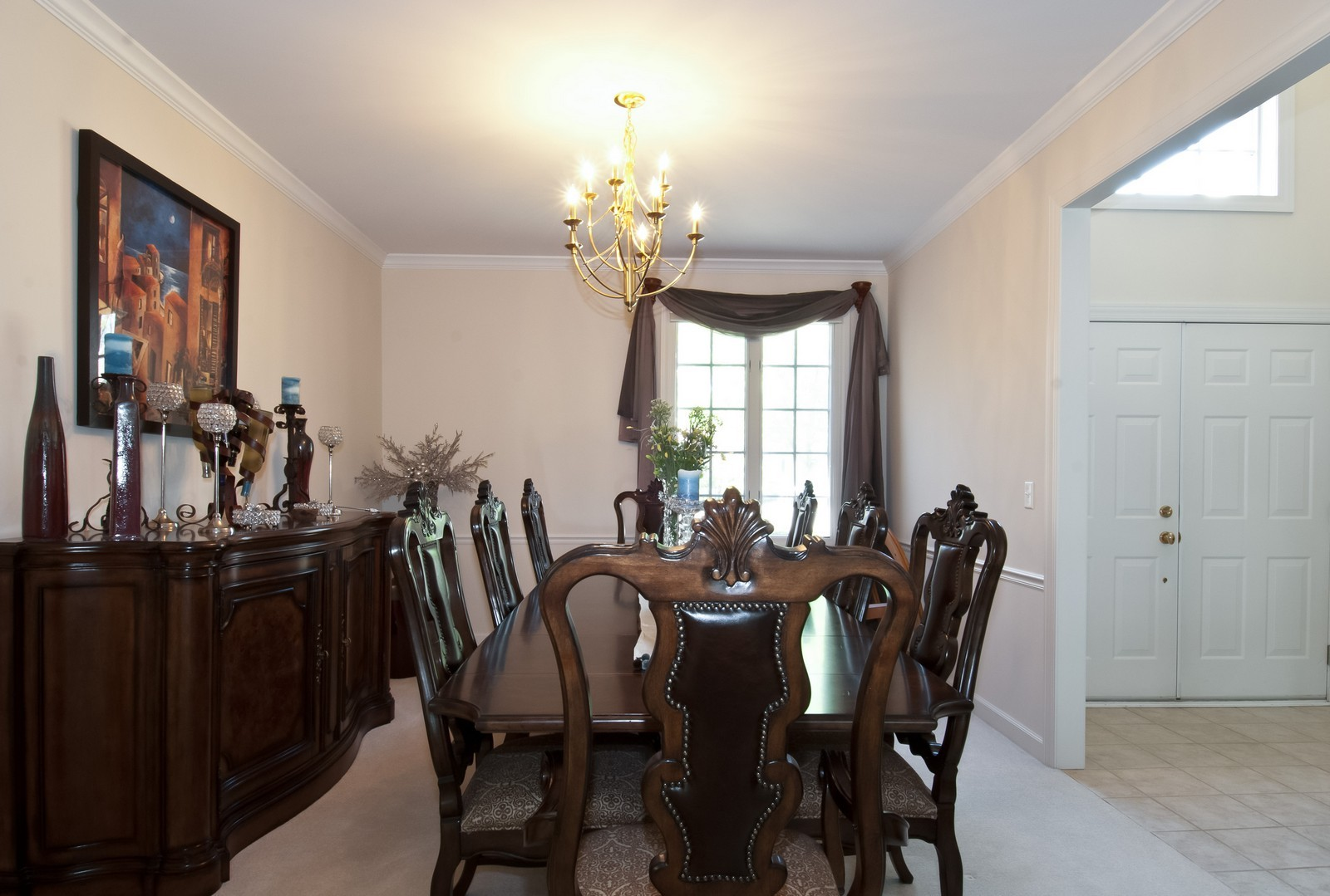 Real Estate Photography - 37 Graystone Ln, North Barrington, IL, 60010 - Dining Room