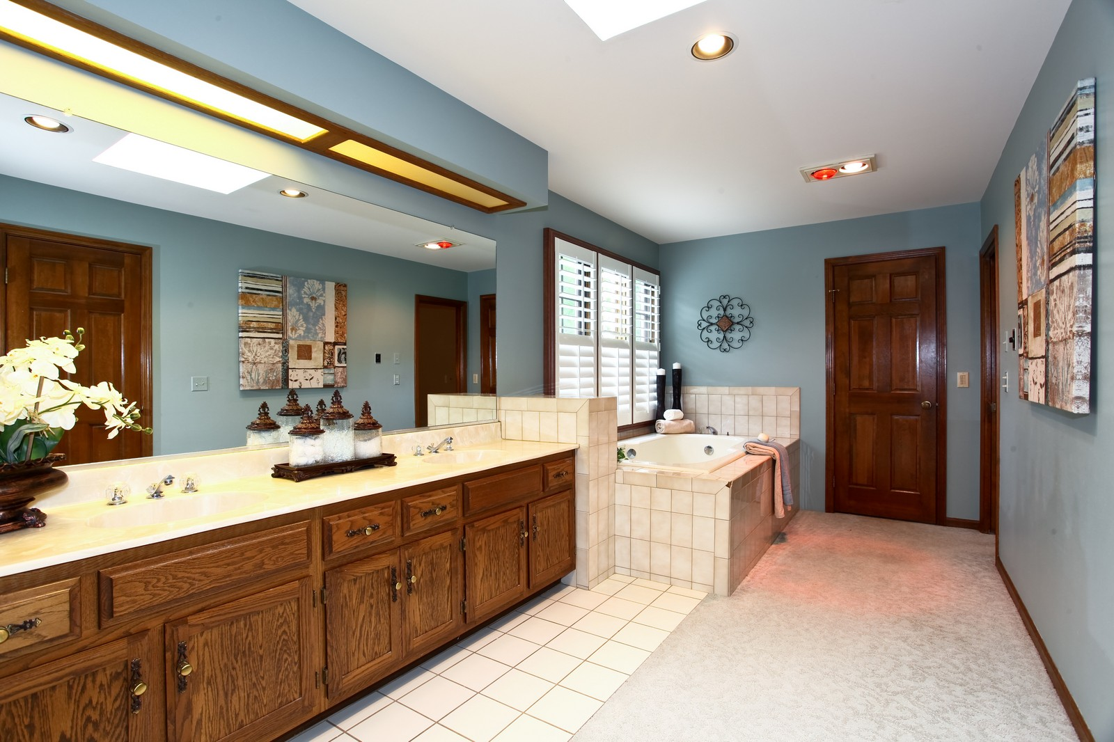 Real Estate Photography - 1018 Thunderbird Ln, Naperville, IL, 60563 - Master Bathroom