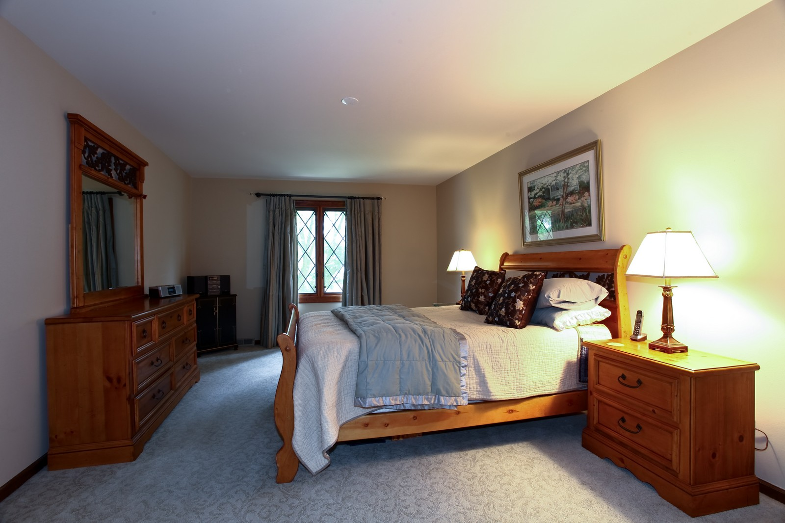 Real Estate Photography - 1018 Thunderbird Ln, Naperville, IL, 60563 - Master Bedroom
