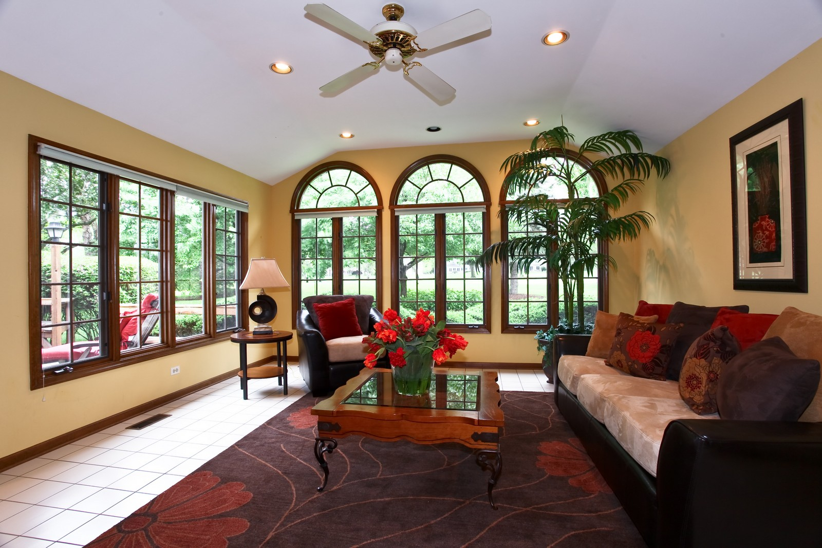 Real Estate Photography - 1018 Thunderbird Ln, Naperville, IL, 60563 - Family Room