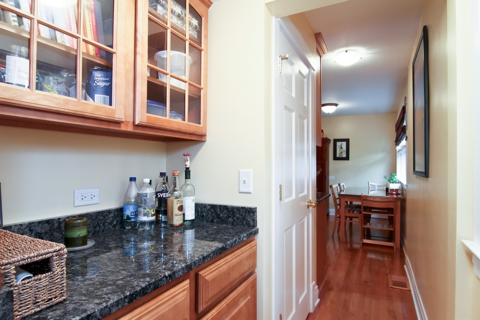 Real Estate Photography - 4701 Cumnor Rd, Downers Grove, IL, 60515 - Pantry