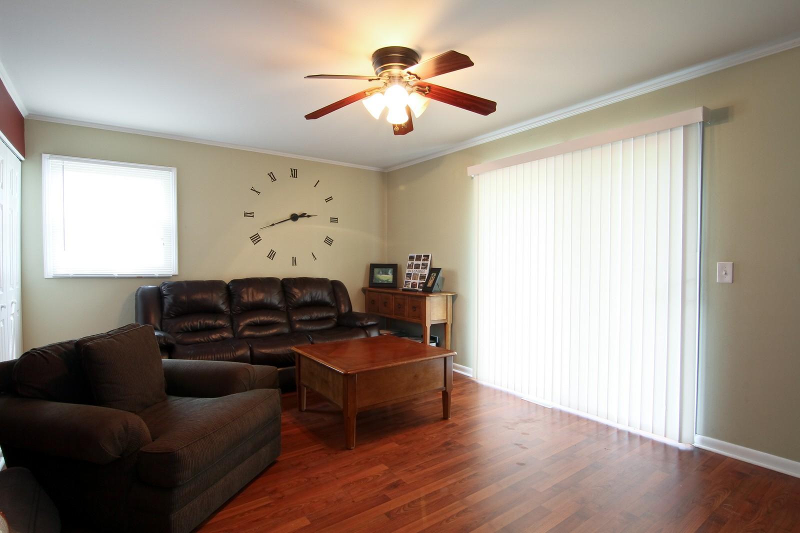 Real Estate Photography - 6104 Ridgeway, Woodridge, IL, 60517 - Family Room