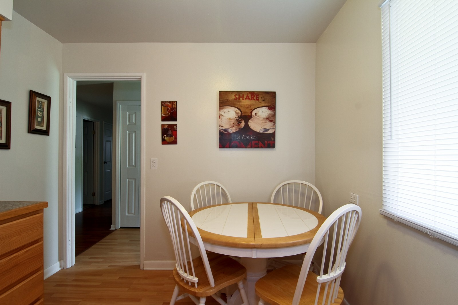 Real Estate Photography - 6104 Ridgeway, Woodridge, IL, 60517 - Breakfast Area