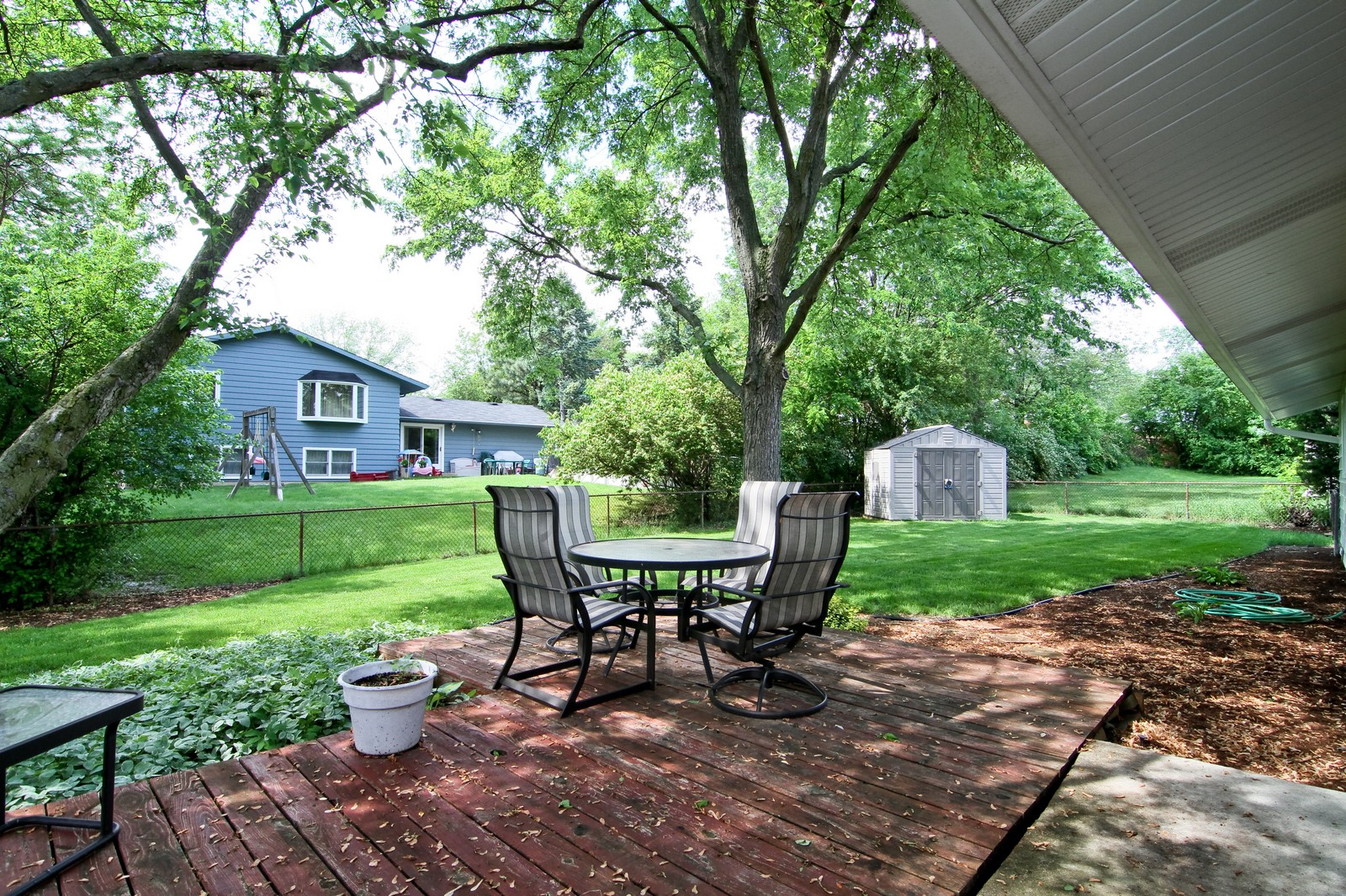 Real Estate Photography - 6104 Ridgeway, Woodridge, IL, 60517 - Patio