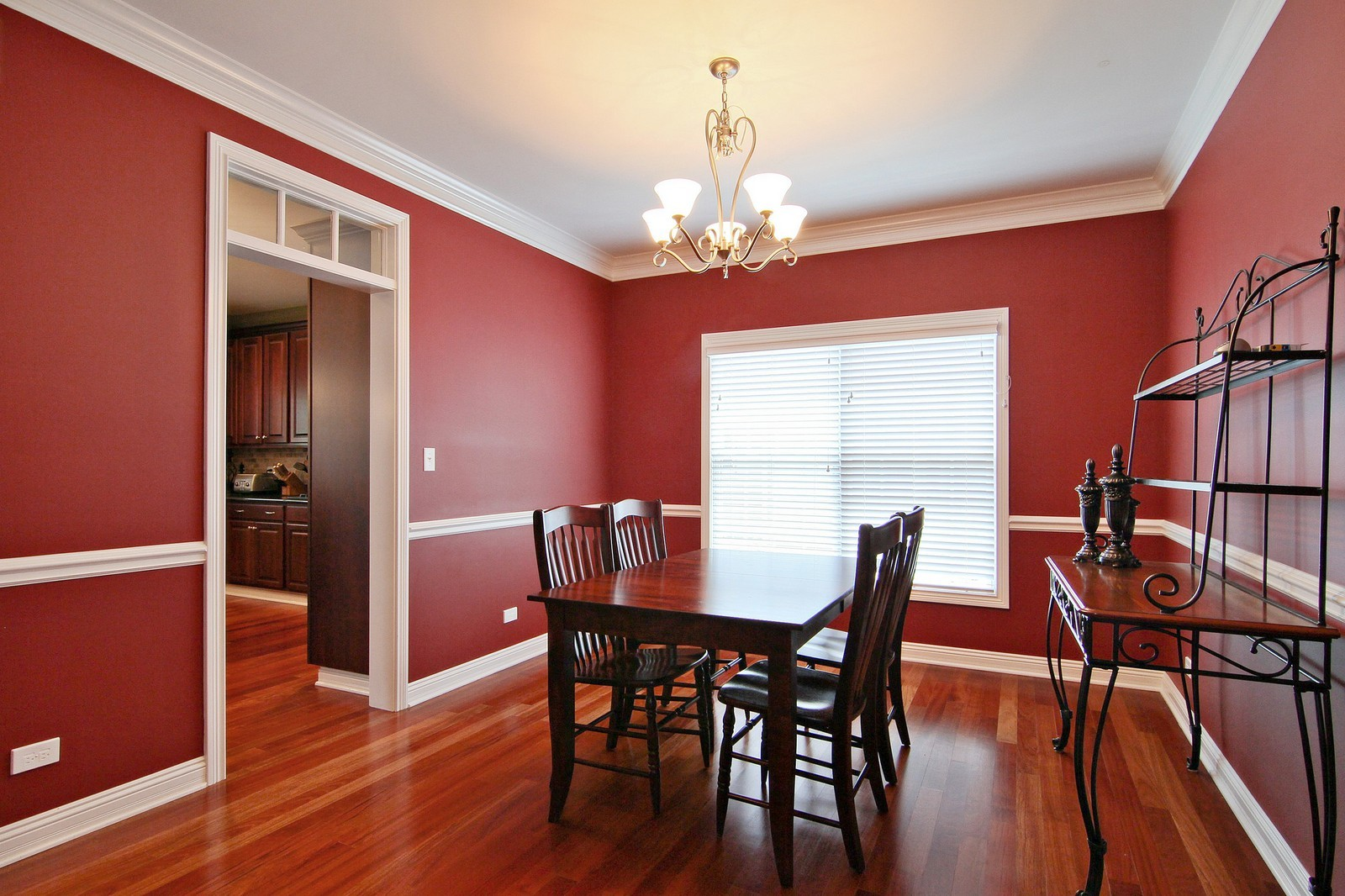 Real Estate Photography - 4915 Stanley Ave, Downers Grove, IL, 60515 - Dining Room