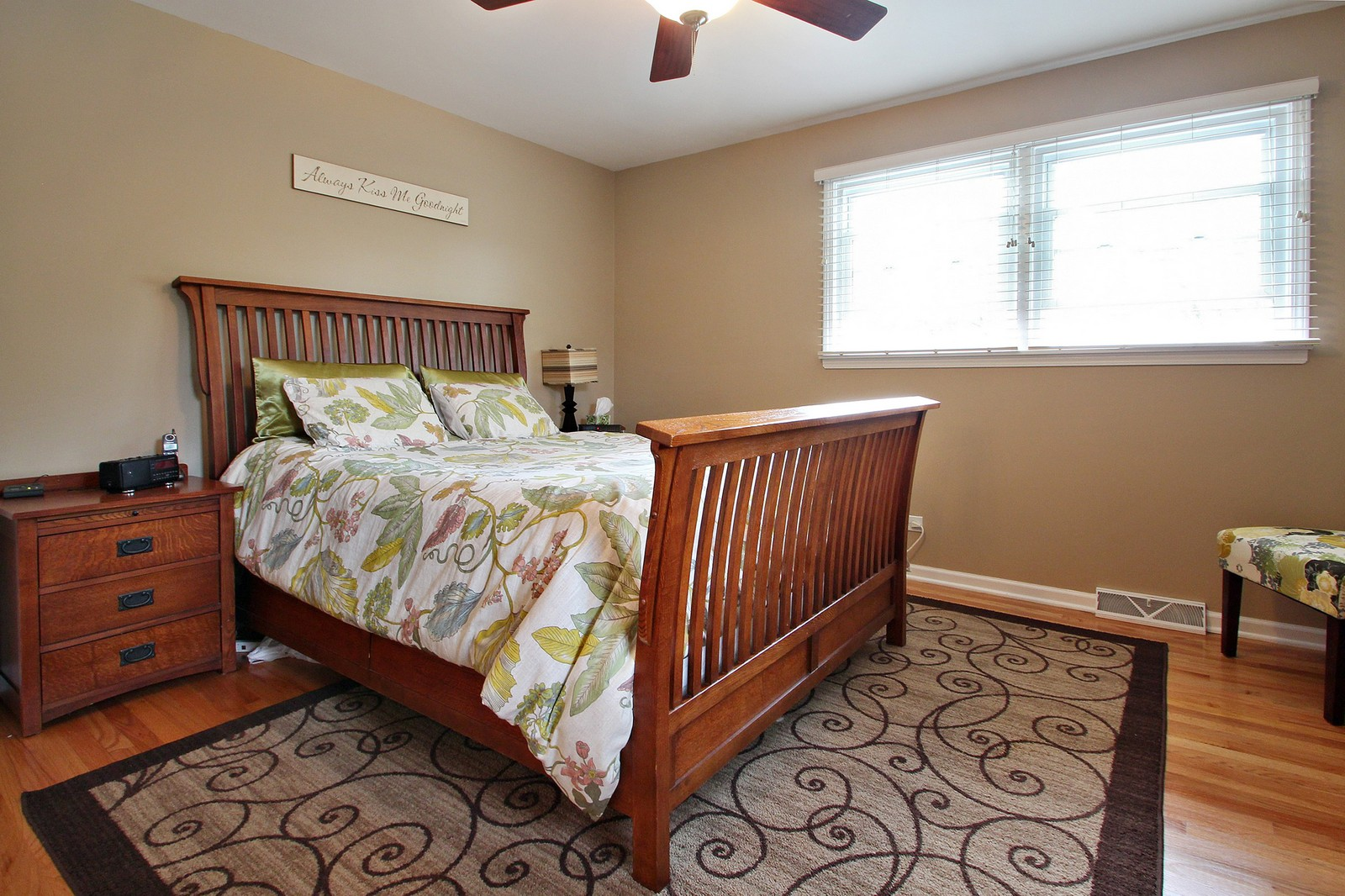 Real Estate Photography - 1040 62nd Pl, Downers Grove, IL, 60516 - Master Bedroom