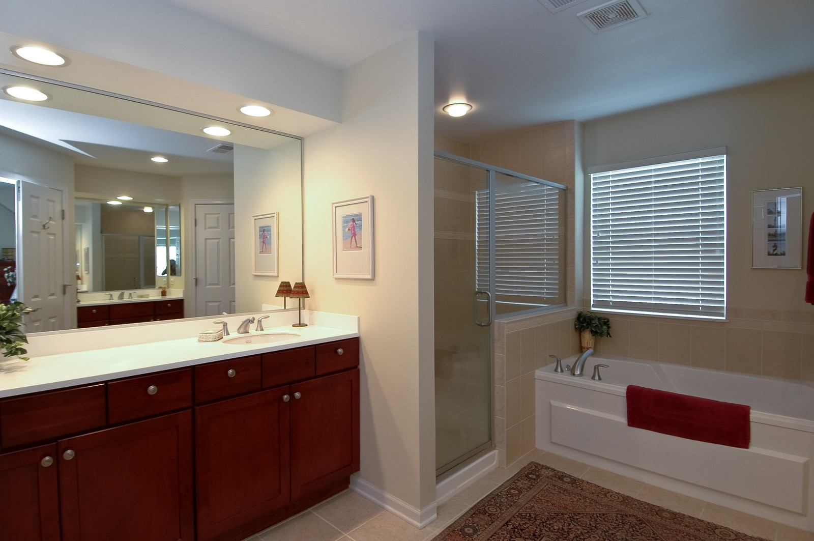 Real Estate Photography - 21899 W Tori Ln, Deer Park, IL, 60010 - Master Bathroom