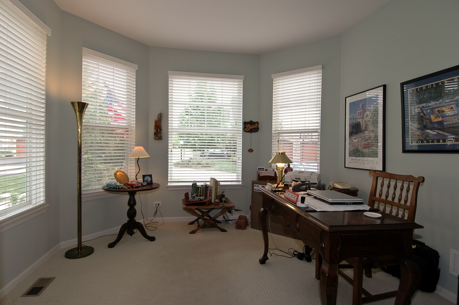 Real Estate Photography - 21899 W Tori Ln, Deer Park, IL, 60010 - Den