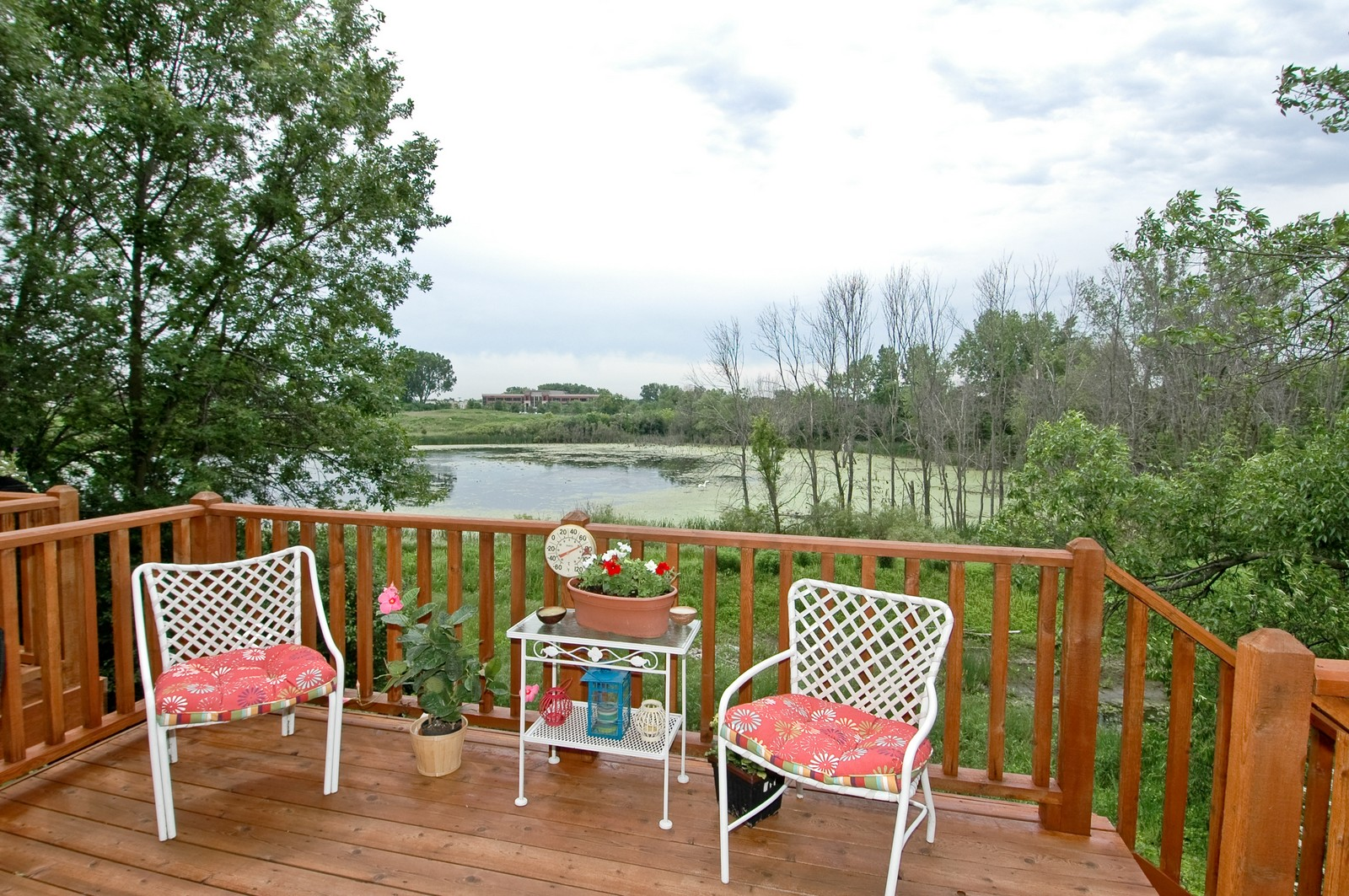 Real Estate Photography - 21899 W Tori Ln, Deer Park, IL, 60010 - Deck