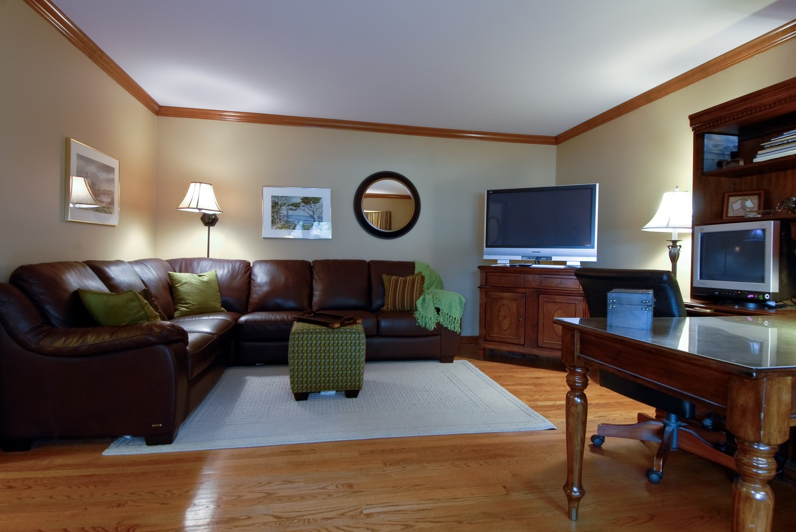 Real Estate Photography - 3942 Broadmoor Circle, Naperville, IL, 60564 - Living Room