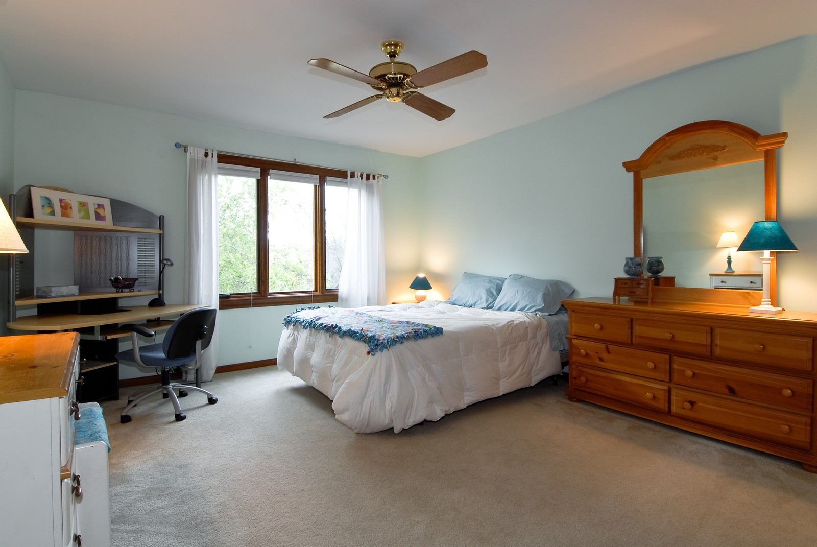 Real Estate Photography - 3942 Broadmoor Circle, Naperville, IL, 60564 - 5th Bedroom