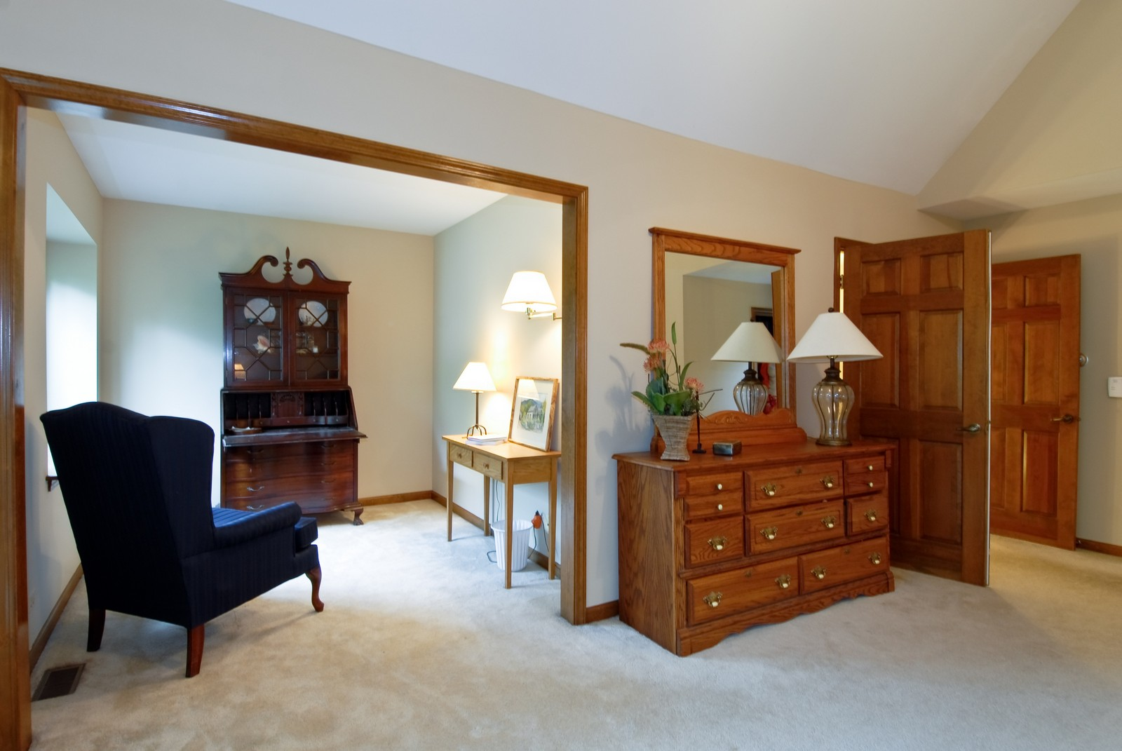Real Estate Photography - 3942 Broadmoor Circle, Naperville, IL, 60564 - Master Bedroom