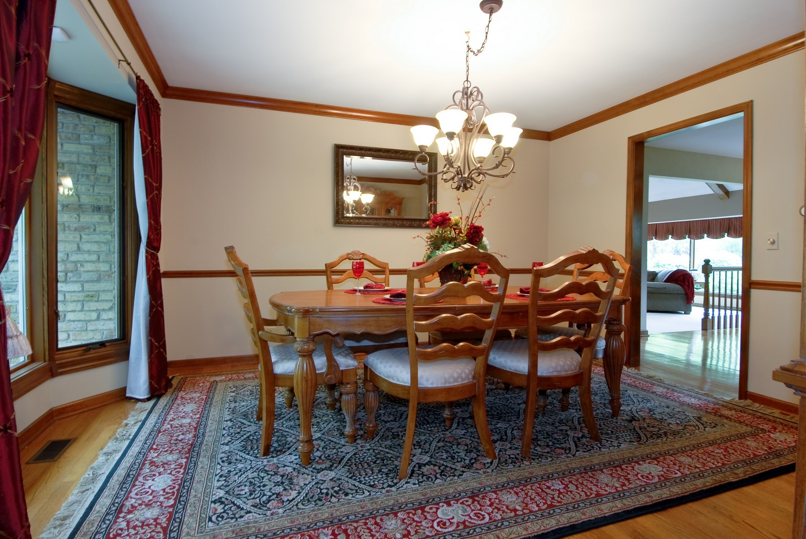 Real Estate Photography - 3942 Broadmoor Circle, Naperville, IL, 60564 - Dining Room