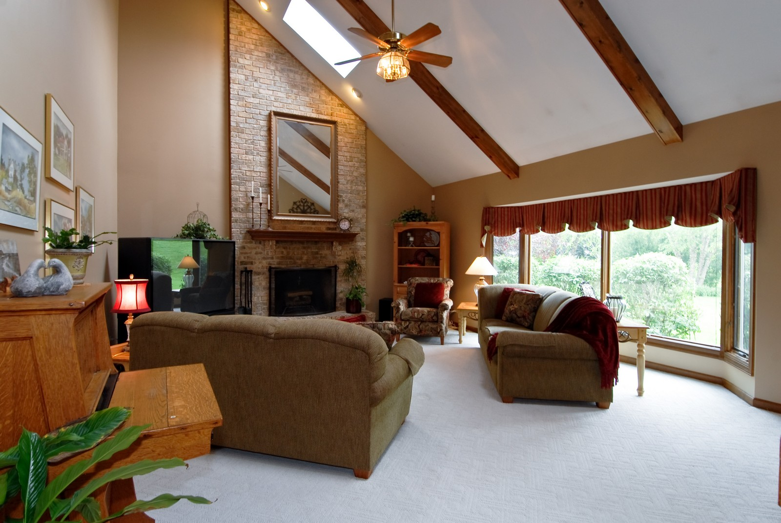 Real Estate Photography - 3942 Broadmoor Circle, Naperville, IL, 60564 - Family Room
