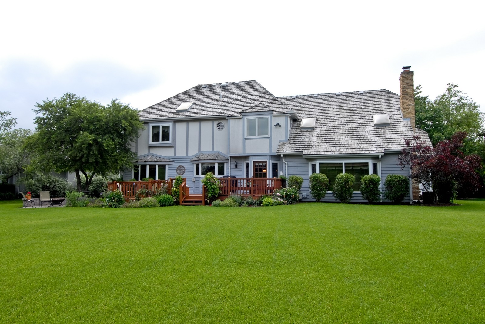 Real Estate Photography - 3942 Broadmoor Circle, Naperville, IL, 60564 - Rear View