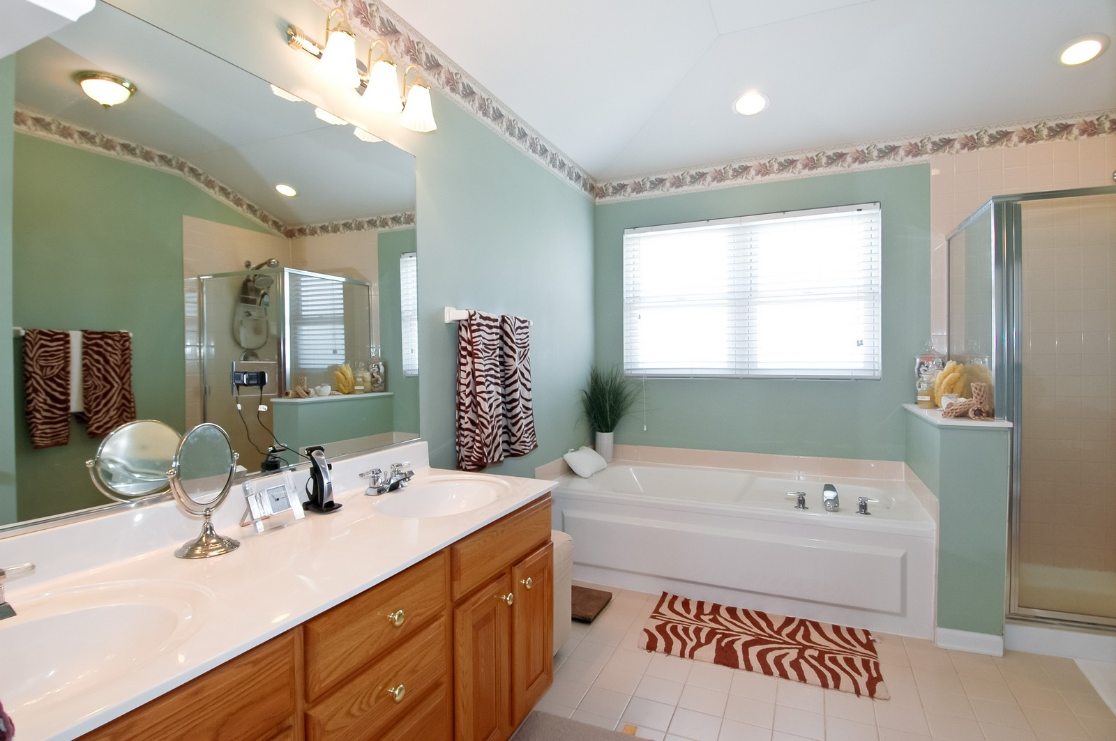 Real Estate Photography - 3521 Buckboard Dr, Algonquin, IL, 60102 - Master Bathroom
