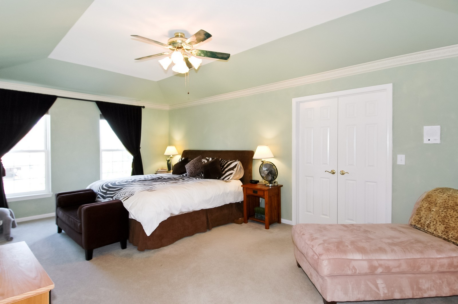 Real Estate Photography - 3521 Buckboard Dr, Algonquin, IL, 60102 - Master Bedroom