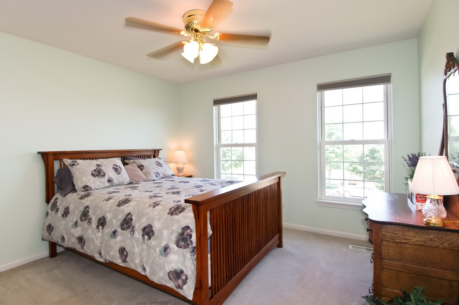 Real Estate Photography - 3521 Buckboard Dr, Algonquin, IL, 60102 - 2nd Bedroom