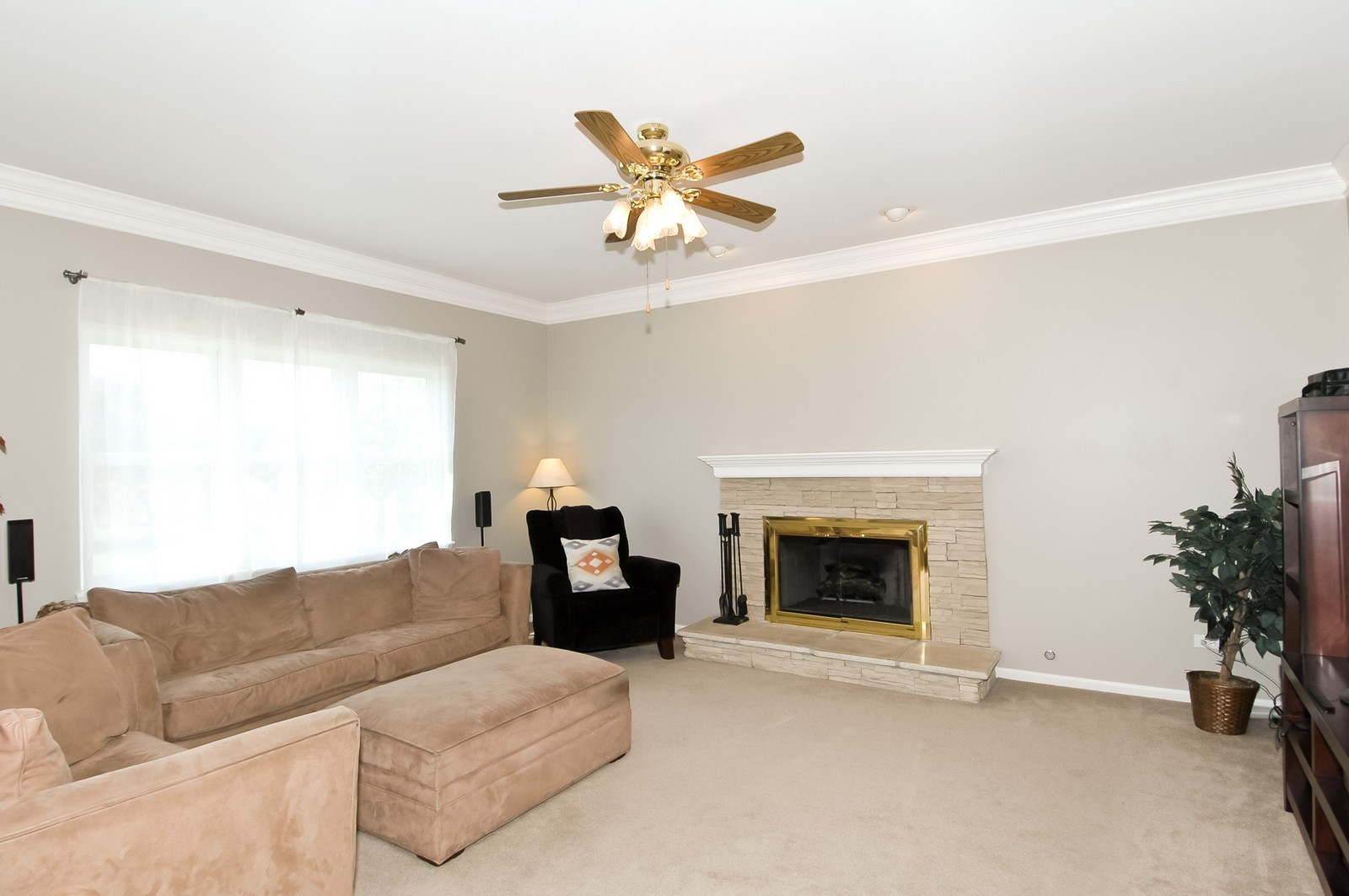Real Estate Photography - 3521 Buckboard Dr, Algonquin, IL, 60102 - Family Room