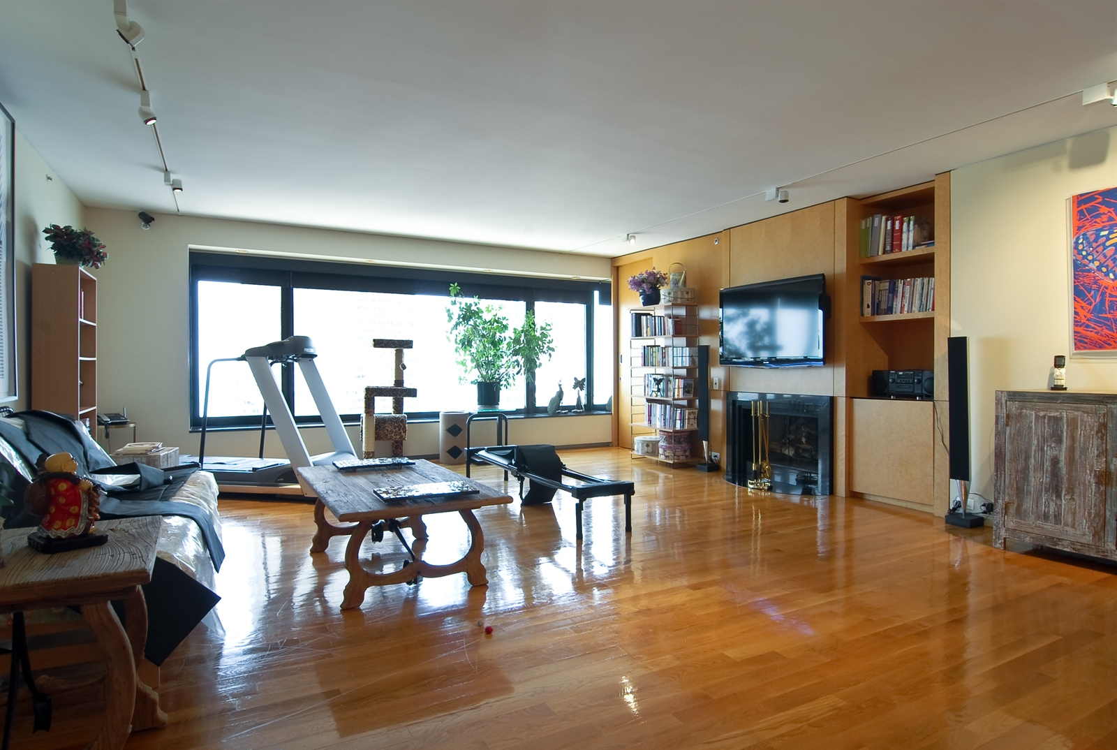 Real Estate Photography - 161 E Chicago, Unit 60M3, Chicago, IL, 60611 - Living Room