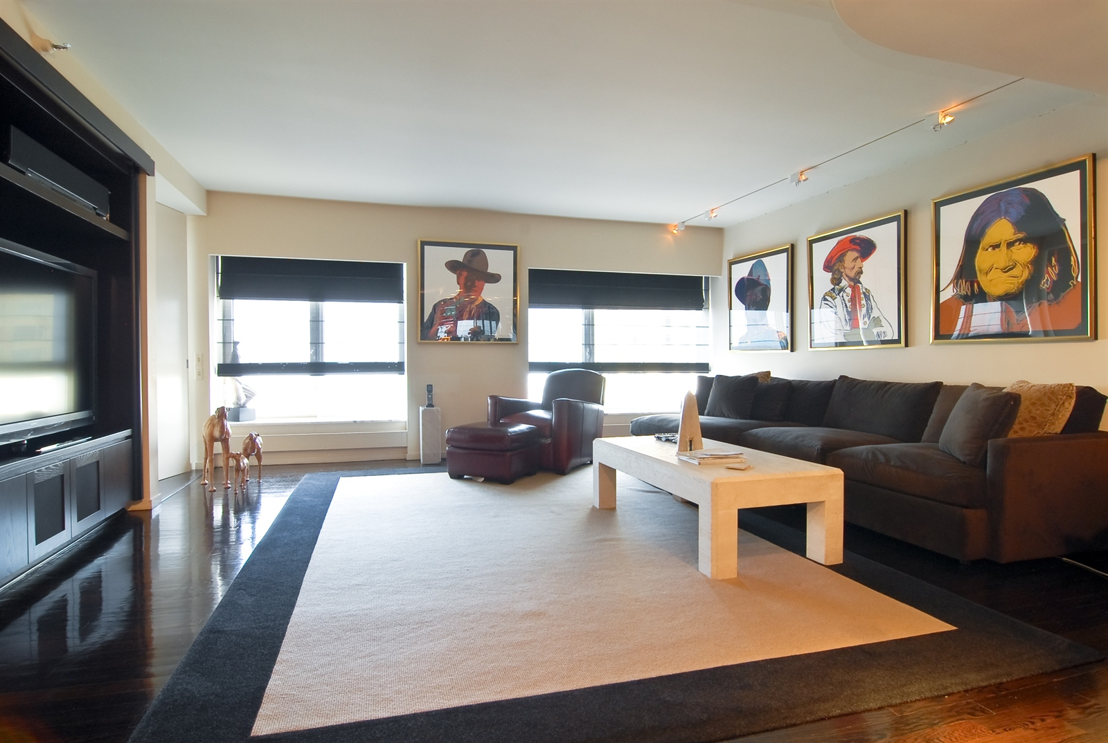 Real Estate Photography - 161 E Chicago, Unit 60M3, Chicago, IL, 60611 - Media Room