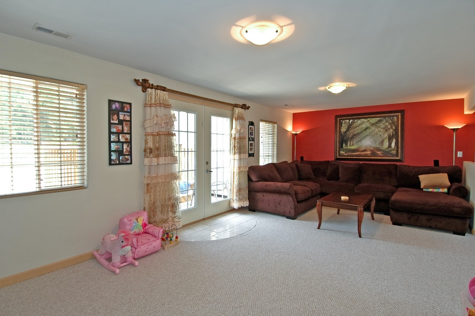 Real Estate Photography - 10N875 Belmont St, Elgin, IL, 60120 - Living Room