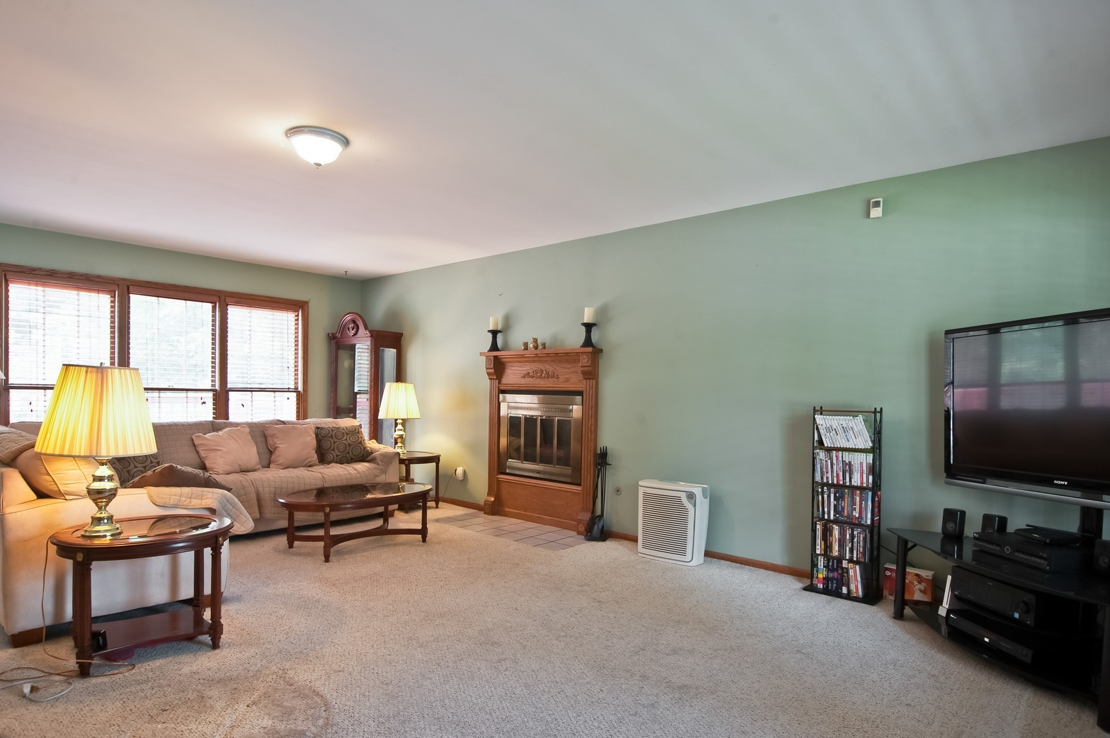 Real Estate Photography - 22816 S Michael Dr, Channahon, IL, 60410 - Living Room