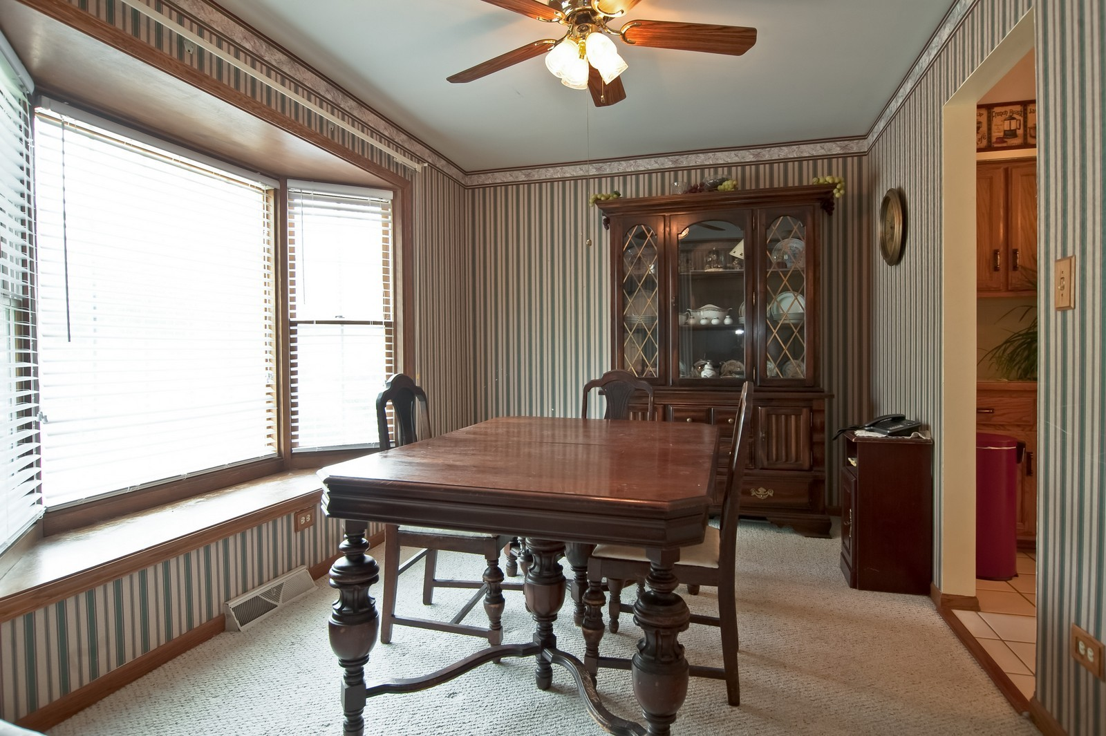 Real Estate Photography - 22816 S Michael Dr, Channahon, IL, 60410 - Dining Room