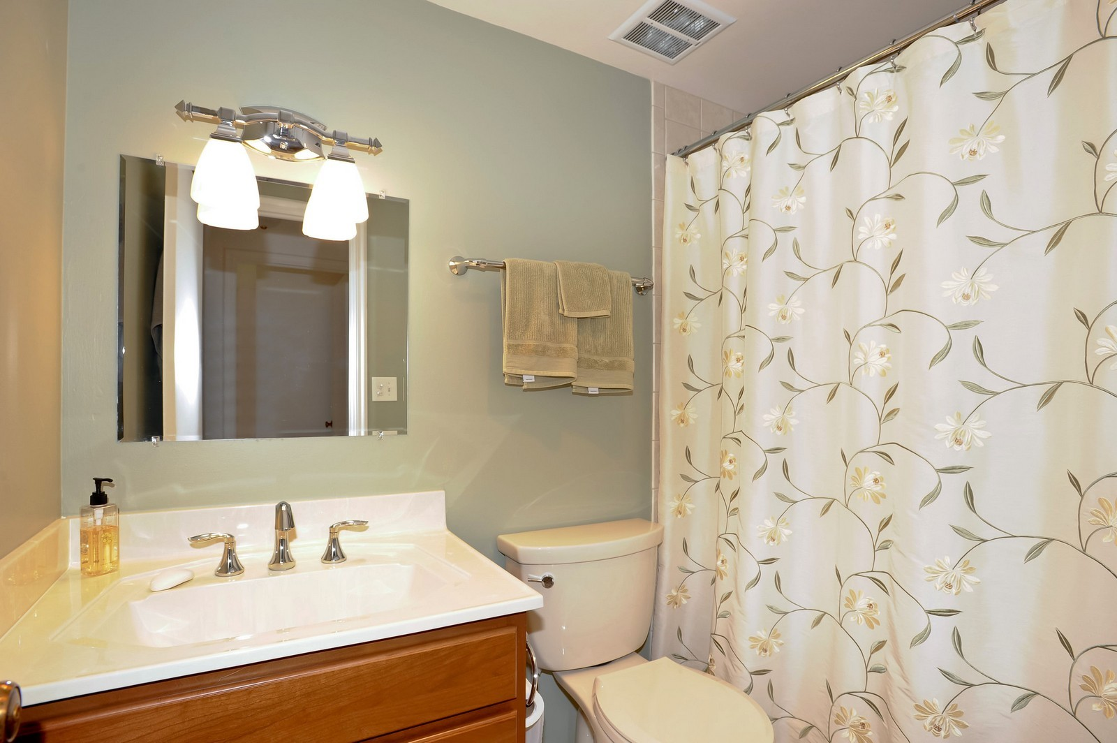 Real Estate Photography - 1105 N Mill St, Unit 217, Naperville, IL, 60563 - Master Bathroom