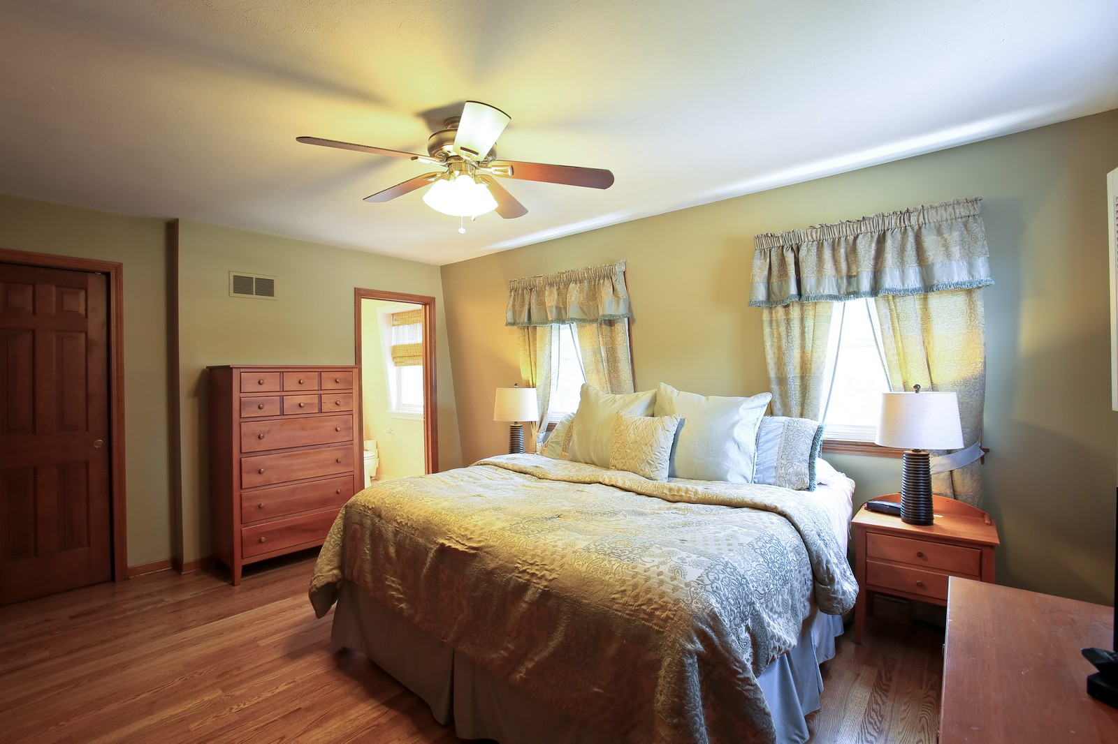 Real Estate Photography - 720 61st St, Downers Grove, IL, 60516 - Bedroom
