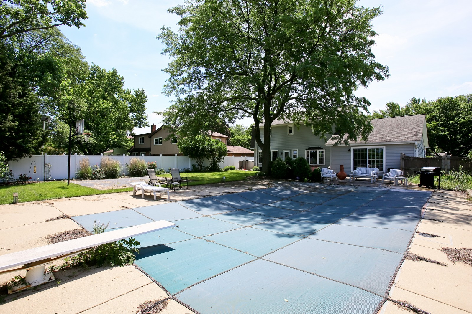 Real Estate Photography - 720 61st St, Downers Grove, IL, 60516 - Rear View