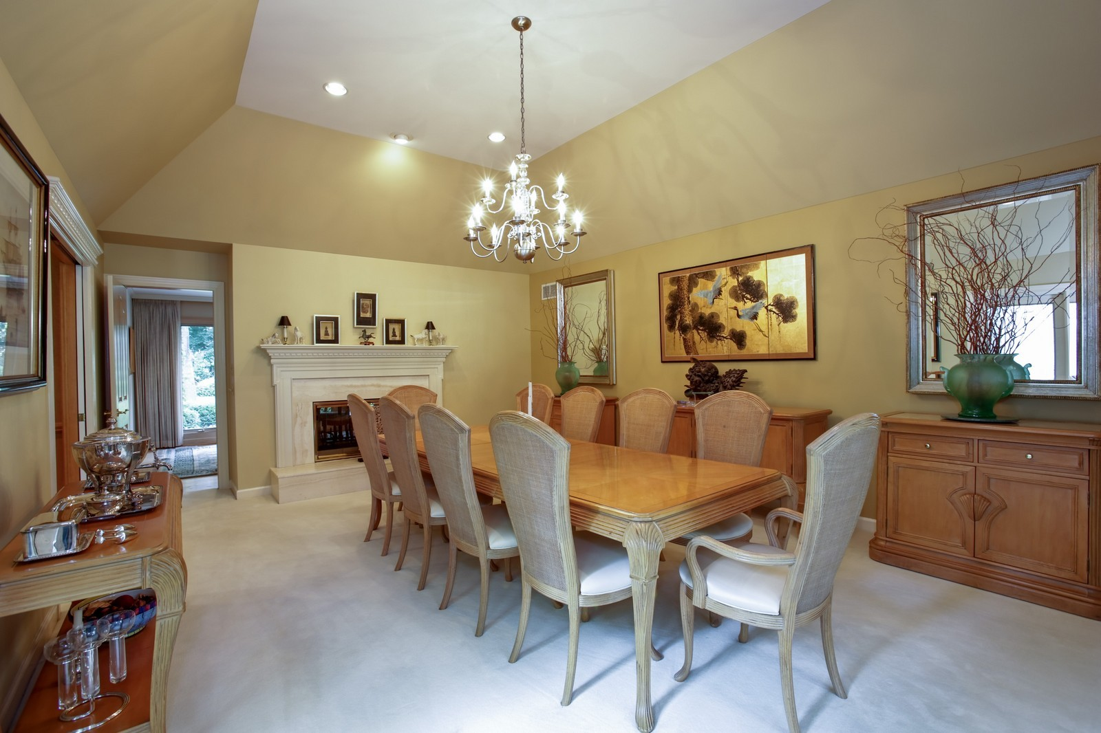 Real Estate Photography - 25W445 Plamondon Rd, Wheaton, IL, 60189 - Dining Room