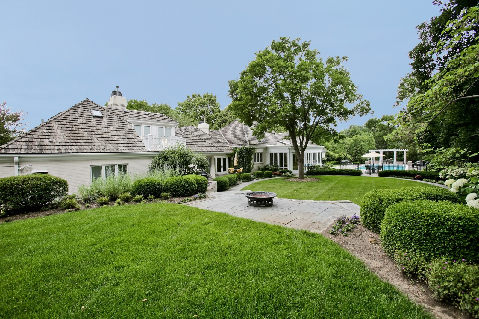 Real Estate Photography - 25W445 Plamondon Rd, Wheaton, IL, 60189 - South end of back yard