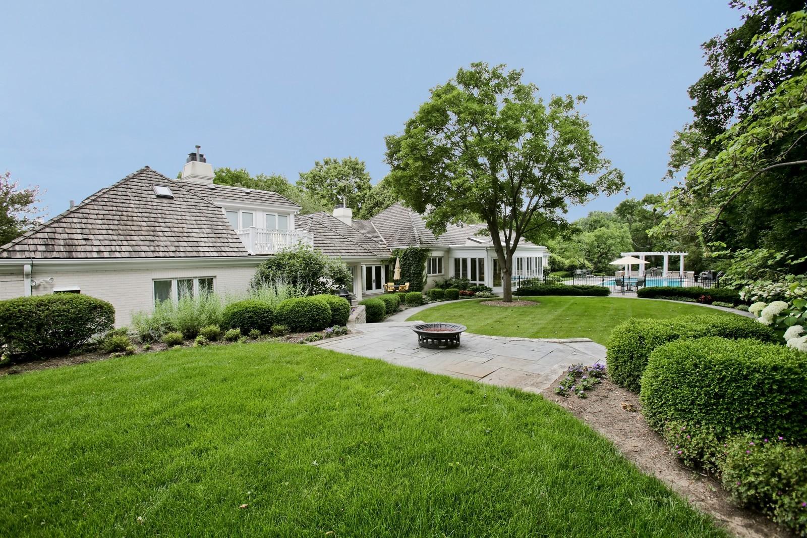 Real Estate Photography - 25W445 Plamondon Rd, Wheaton, IL, 60189 - South end of back yard