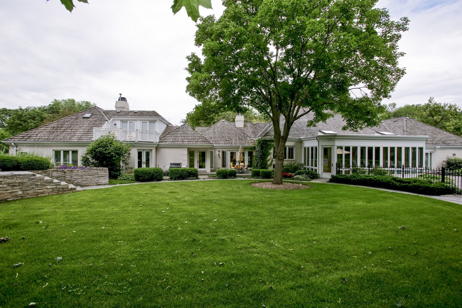 Real Estate Photography - 25W445 Plamondon Rd, Wheaton, IL, 60189 - Rear View