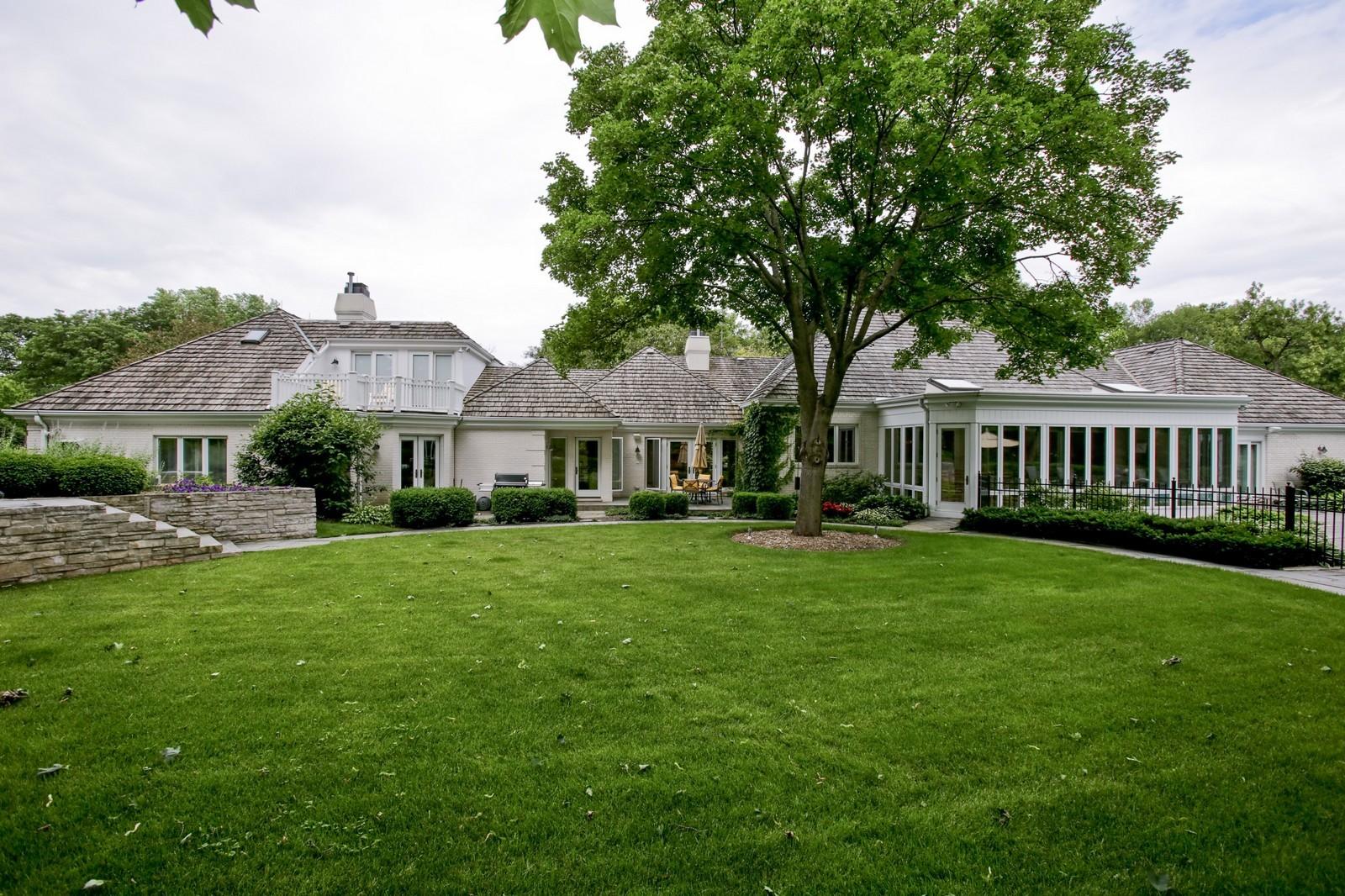 Real Estate Photography - 25W445 Plamondon Rd, Wheaton, IL, 60189 - Rear View