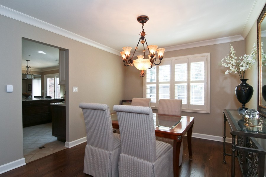 Real Estate Photography - 20W431 Havens Ct, Downers Grove, IL, 60516 - Dining Room