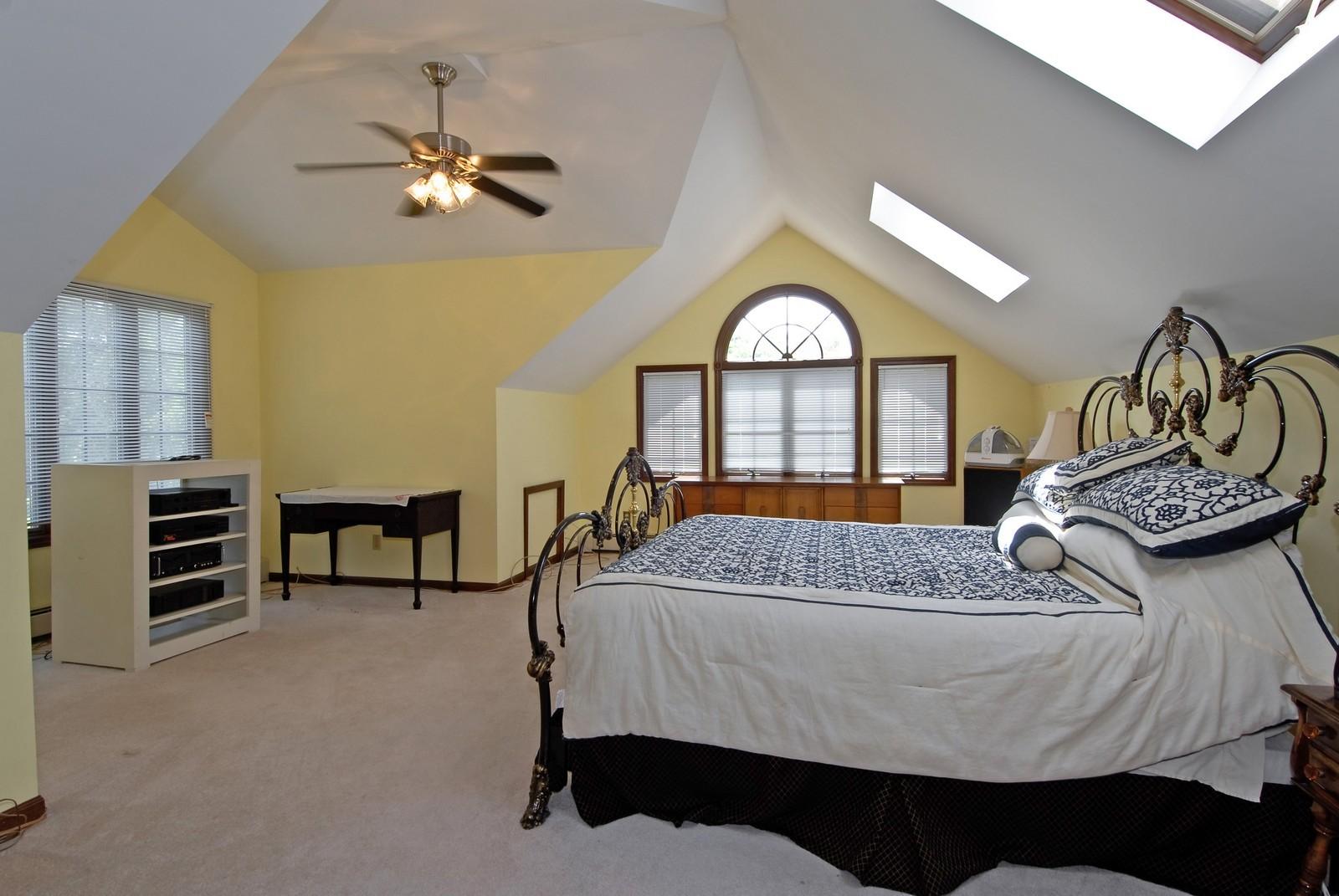 Real Estate Photography - 94 Pletcher Dr, Yorkville, IL, 60560 - Master Bedroom