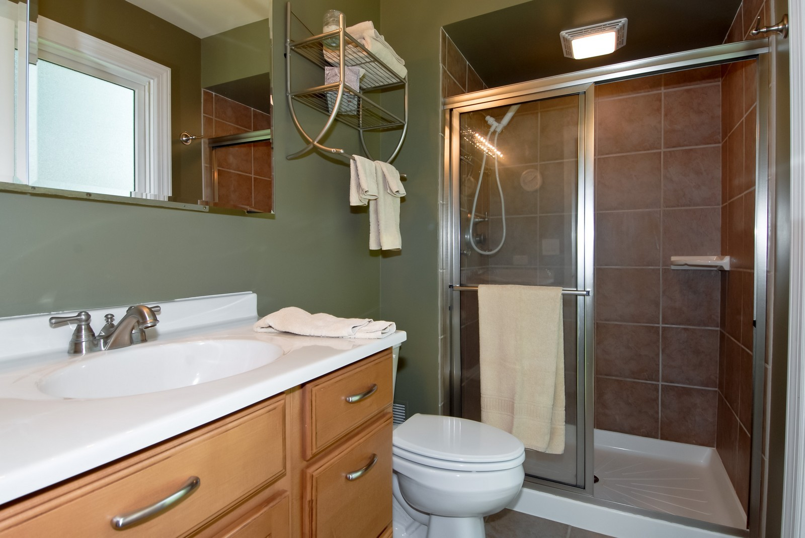 Real Estate Photography - 256 Canidae Ct, St Charles, IL, 60174 - Master Bathroom