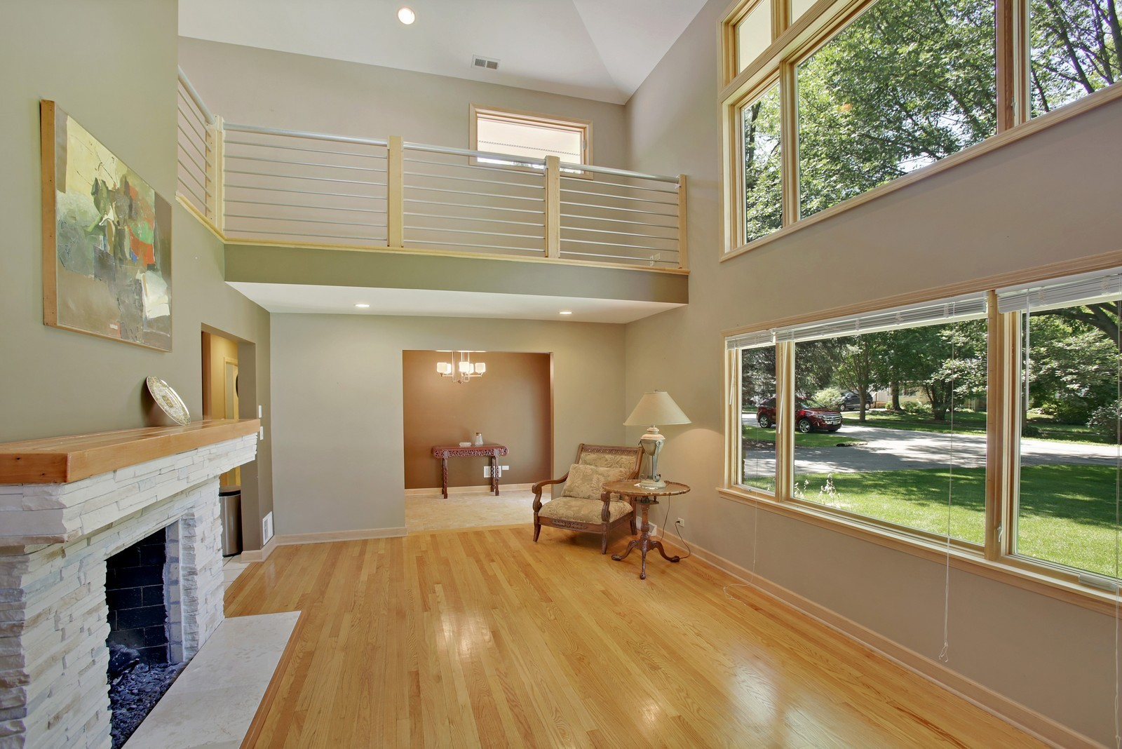Real Estate Photography - 4107 Washington St, Downers Grove, IL, 60515 - Living Room