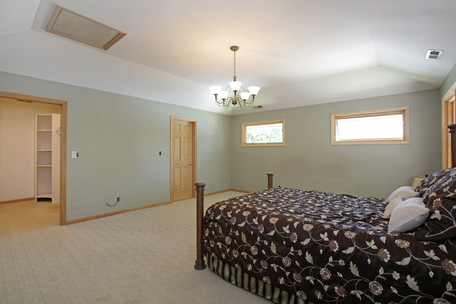 Real Estate Photography - 4107 Washington St, Downers Grove, IL, 60515 - Master Bedroom