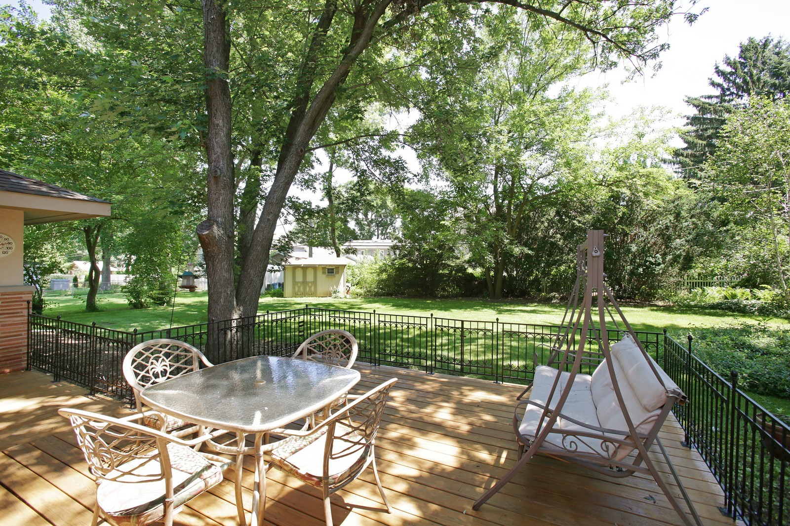 Real Estate Photography - 4107 Washington St, Downers Grove, IL, 60515 - Back Yard