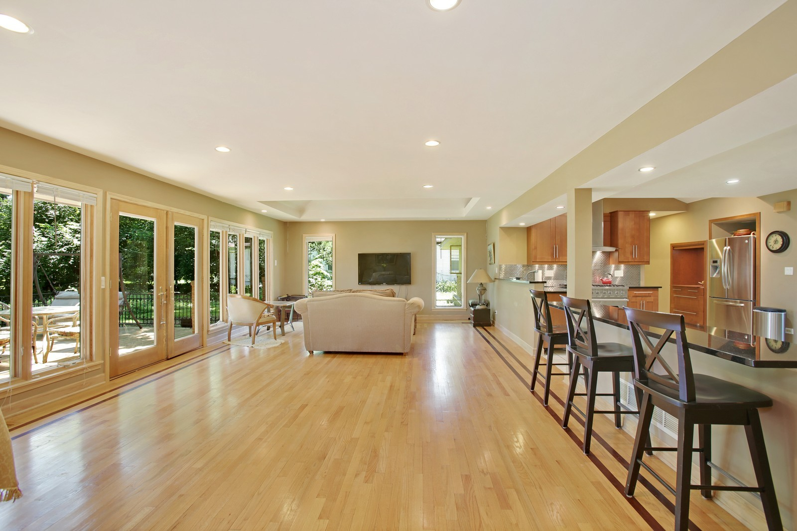 Real Estate Photography - 4107 Washington St, Downers Grove, IL, 60515 - Family Room
